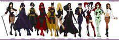 Gotham Girls by *Femmes-Fatales on deviantART