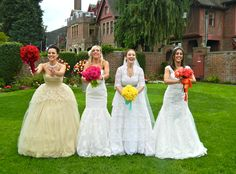 Get cast in the new season of Four Weddings with four of your girlfriends!