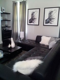 Black And White Living Room Decor