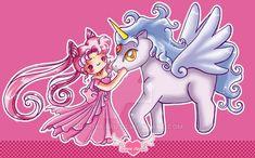 Chibiusa and Helios chibis by luzhikaru.deviantart.com on @DeviantArt