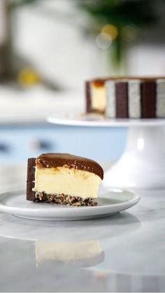 Torta holandesa com Hershey's Mais é uma delícia. Que tal preparar uma hoje mesmo?