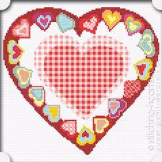 GINGHAM CROSS STITCH PATTERNS | Online Cross Stitch Patterns