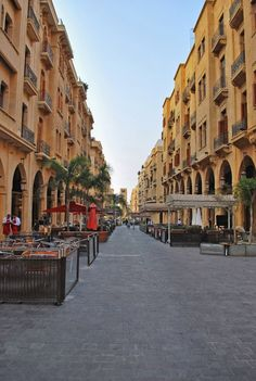 human resilience from Phoenicia's Phoenixes:  renovated downtown Beirut, Lebanon, following original rescued architectural plans, after colonizing wars from 1975-1990 (photo by tcgt1979 @TrekEarth.com)