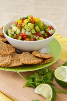 Corn-free Nachos and Summer Salsa