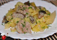 Смотрите Жаркое из свинины с картошкой и грибами