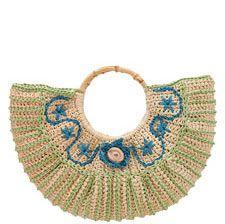 """Montauk"" handbag #crochet pattern by Amie Hirtes; pattern PDF $5.50 at NexStitch."