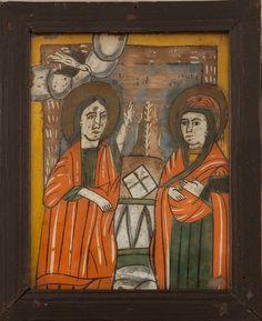 Religious Art, Ikon, Glass, Painting, Christ, Lds Art, Drinkware, Corning Glass, Painting Art