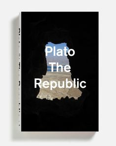 design by Peter Mendelsund for The Republic by Plato http://grafiktrafik.tumblr.com