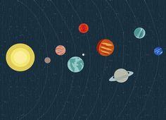 Lámina Sistema Solar | Lullaby Diaries