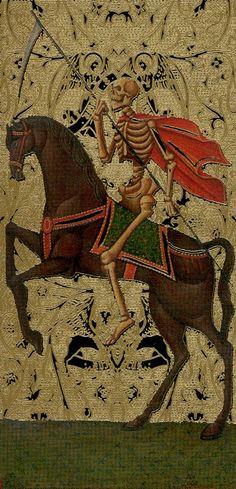 XIII. Death: Golden Tarot of the Tsar