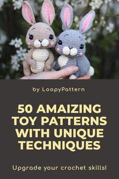 Сrochet PATTERN amigurumi BUNNY pdf tutorial how crochet Easter bunny 2 in 1 rabbit baby gift crochet hare rabbit nurcery decor Easter by LoopyPattern gift