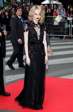 Emma Stone Photos: Emma Stone looks all grown up at the French premiere of her new flick 'The Amazing Spider-Man'