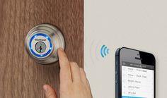 Kevo-key abre tu puerta con tu celular usando bluetooth
