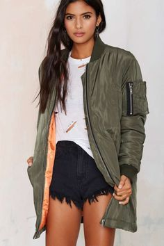 Army of One Bomber Jacket | Shop Clothes at Nasty Gal!