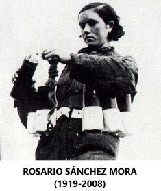 ROSARIO SÁNCHEZ MORA (LA DINAMITERA) (1919-2008)