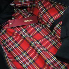 Merc Harrington jacket detail