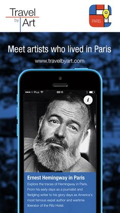 Discover Paris trough eyes of Ernest Hemingway with TravelbyArt