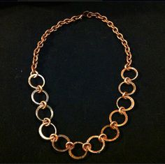 Penny Choker Necklace by Amplified Arts.