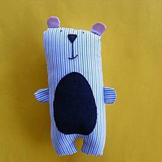 Teddy Bear Sewing Pattern PDF by ShinyHappyWorld on Etsy, $5.00