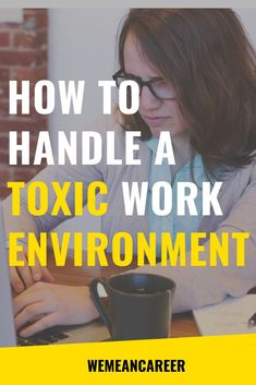 Although dealing with a toxic work environment is anything but fun, you don't have to be at the mercy of your surroundings. Here are just a few tips that should help you cope while you're working in a toxic work environment. Find People, Positive Mindset, Career Advice, How To Relieve Stress, Bullying, Something To Do, Improve Yourself, Environment, Handle
