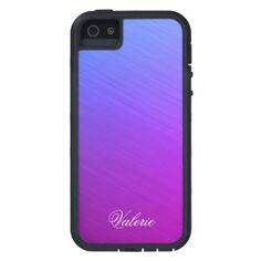 Miami Shine Personal iPhone SE/5/5s Case - metal style gift ideas unique diy personalize