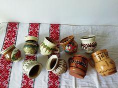 Primitive Ceramic Cups, Old Handmade Vessel, Vintage Pitcher Jugs #Rustic #Terracotta #Pottery Vintage Pins, Vintage Items, Vintage Farmhouse Decor, Old Bottles, Milk Tea, Ceramic Cups, Terracotta, Primitive, Coffee Mugs