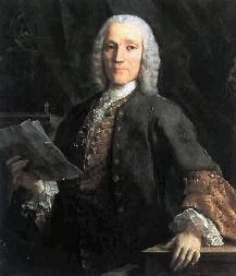 Domenico Scarlatti (1685 –1757) was an Italian composer who spent much of his life in the service of the Portuguese and Spanish royal families. He is classified as a Baroque composer chronologically, although his music was influential in the development of the Classical style. Like his renowned father Alessandro Scarlatti he composed in a variety of musical forms, although today he is known mainly for his 555 keyboard sonatas.