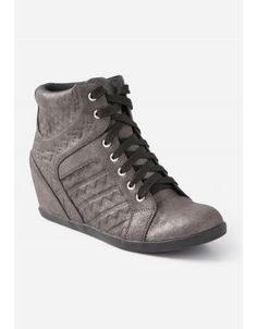 2dcbeaf41631 Justice is your one-stop-shop for on-trend styles in tween girls clothing    accessories. Shop our Embossed Geometric Wedge Sneakers.