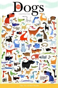 99 dogs...  find the  cat