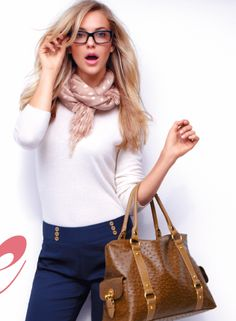 scarf, pants and bag, oh my!