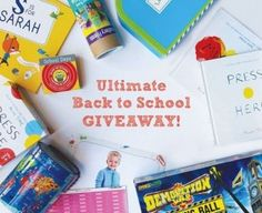 Is your little one ready? Enter to win the ULTIMATE back-to-school prize package!