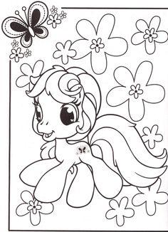 My Little Pony Coloring Pages 46 | Par Coloringpagesforkids