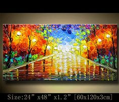 contemporary wall art Modern Textured Painting,Impasto Landscape Textured Modern Palette Knife Painting,Painting on Canvas. Abstract Art Painting, Art Painting, Contemporary Wall Art, Wall Art, Visual Illusion, Art, Texture Painting, Canvas Painting, Texture Painting On Canvas
