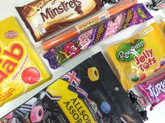 British Sweets - a visit to your childhood, if only for a minute.