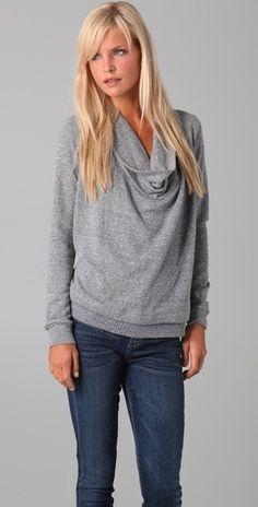 Grey sweater by Splendid.