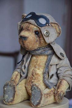 Teddy bear Alfred by By Evgeniya Sidorenko | Bear Pile
