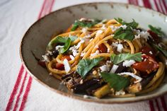Pasta alla Norma (Pasta with Tomatoes and Eggplants)