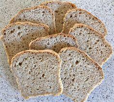 Min side ~ Fars grove brød stk) Norwegian Food, Cloud Bread, Banana Bread, Food And Drink, Keto, Gluten, Dining, Health, Desserts