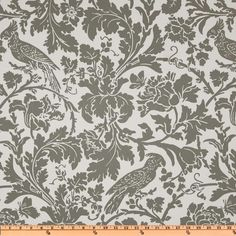Premier Prints Marbella Twill Storm Grey from @fabricdotcom  Screen printed on cotton twill; this versatile lightweight (approx. 5.4 ounce) fabric is perfect for window treatments (draperies, valances, curtains and swags), toss pillows, bed skirts, duvet covers, some upholstery and other home decor accents. Clean. Colors include grey and white.