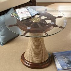 Ships Wheel Table from Seventh Avenue ® Beach House
