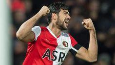 Graziano Pelle, vrijwel persoonlijk verantwoordelijk voor de hoge ranking vna Feyenoord in 2012-2013