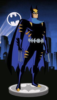 BTAS - Dark Claw by DCAUniverse on DeviantArt Batman Poster, Batman Comic Art, Marvel Dc Comics, Batman Concept, The New Batman, Batman The Animated Series, Famous Cartoons, Comics Universe, Marvel Vs
