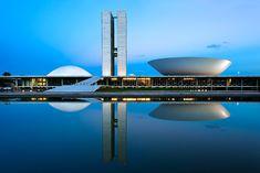 National Congress of Brazil, Oscar Niemeyer, 1958.