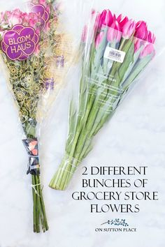 Arranging Grocery Store Flowers: Tips & Tricks - On Sutton Place