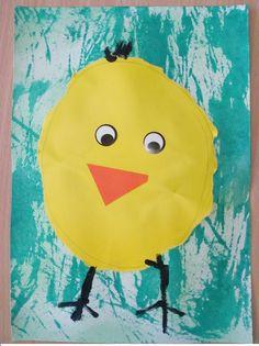 kuřátko z papíru vytrhávání Tweety, Pikachu, Montessori, Diy, Fictional Characters, Pictures, Bricolage, Do It Yourself, Fantasy Characters