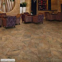 Calabria Br featured on the Modern Slate page from South Cypress.  #flooring, #tile. #porcelaintile