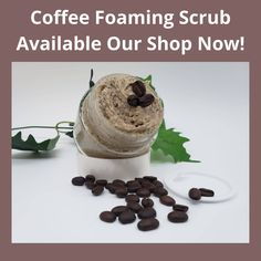 Excited to share the latest addition to my #etsy shop: Coffee French Vanilla Scrub - foaming sugar scrub - Face Lighten Scars, Clay Face Mask, Coffee Scrub, French Vanilla, Even Skin Tone, Avocado Oil, Acne Scars, Oily Skin, Glowing Skin