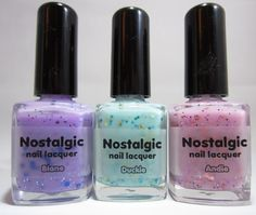 http://idapie.blogspot.com/2012/03/nostalgic-nail-laquer-haul-two-swatches.html  Need this! Love the colors and it's one of my fave movies!