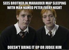 Good Guys Fred and George Weasley. Never considered this before.