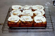 We make these cinnamon buns every New Years Day; they've become a favorite tradition. Cinnamon Swirl Buns | Smitten Kitchen